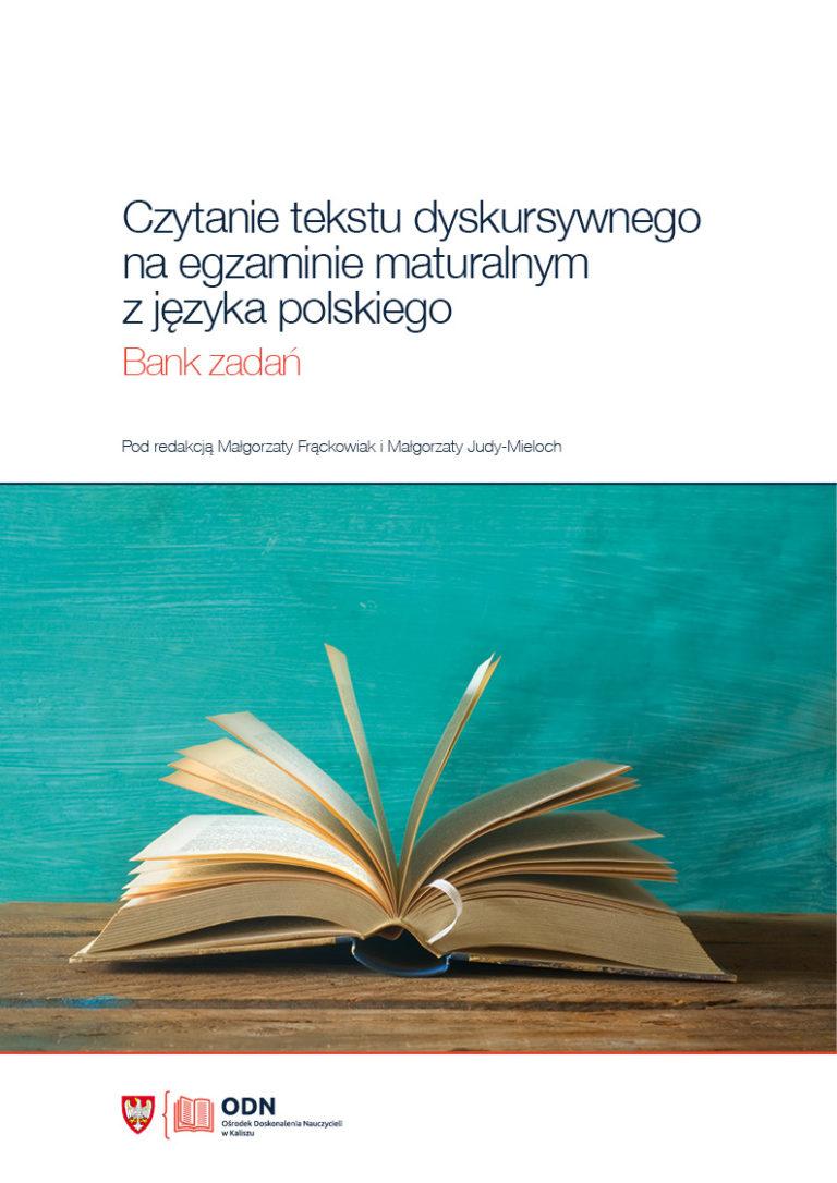 Zdjęcie przedstawia okładkę książki wydanej przez Ośrodek Doskonalenia Nauczycieli w Kaliszu