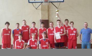 Koszykarska drużyna chłopców