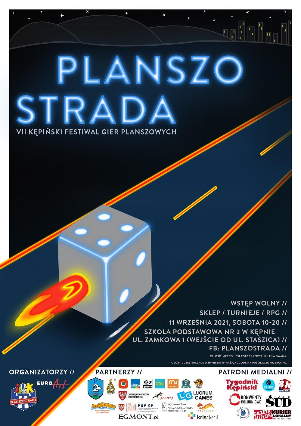 Plakat Festiwalu Gier Planszowych