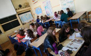 Klasa ID podczas zajęć dotyczących opisów bibliograficznych